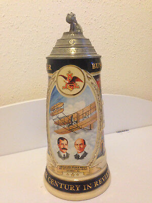 Anheuser Busch Budweiser USA Bierkrug Krug Sammler Limited Collection Stein Zinn