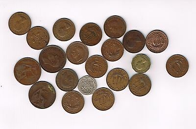 21 Great Britain coins as old as 1919