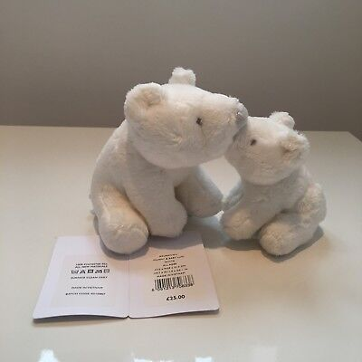 The Little White Company Bear Soft Toys - New With Tags