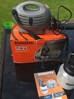 Terratek Electric Paint Spray Gun, Boxed - Used once!