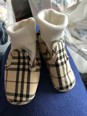 Burberry Baby Slippers