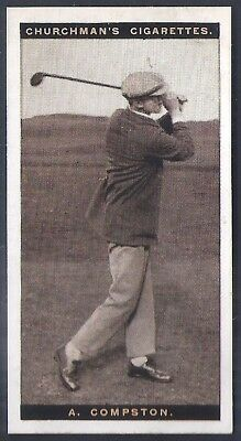 Churchman-Famous Golfers Golf-#08- Archie Compston
