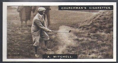 Churchman-Famous Golfers Golf-#32- Abe Mitchell