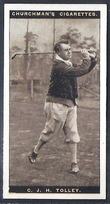 Churchman-Famous Golfers Golf-#43- Cyril James Tolley