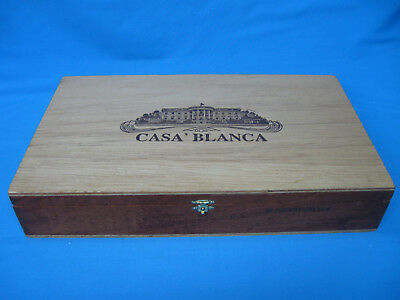 Casa' Blanca CIGAR BOX Magnum XL ~ 25Luxury Hand Made ~ Dominican Republic