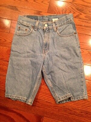 Levi Strauss & Co 550 Blue Jean Denim Shorts Size 12 Relaxed Fit