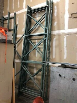 Pallet Rack Tear Drop Upright Frame