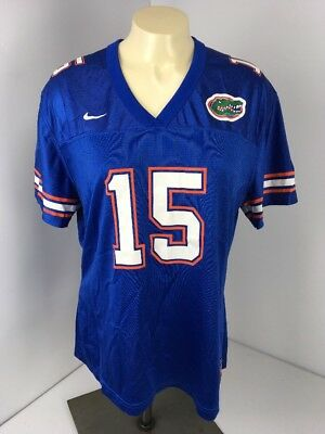 new product 8339c 58414 Nike Florida Gators  15 Blank--Tim Tebow number XL youth Football Jersey