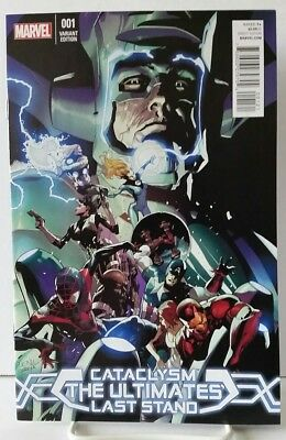 Cataclysm: Ultimates Last Stand #1 Leinil Francis Yu Variant Cover Marvel Comics
