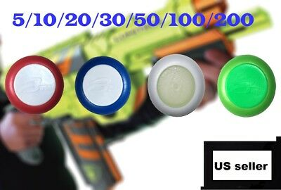 New Refill Bullet Soft Discs For NERF Vortex Blasters Pyragon Kids Toy Gun Dart