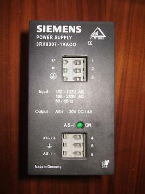 Siemens 3RX9307-1AAOO AS-i Power Supply ASI   3RX9307-1AA00