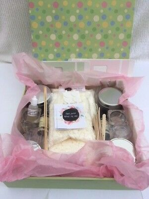 Candle Making Kit - lovely gift, great for beginners