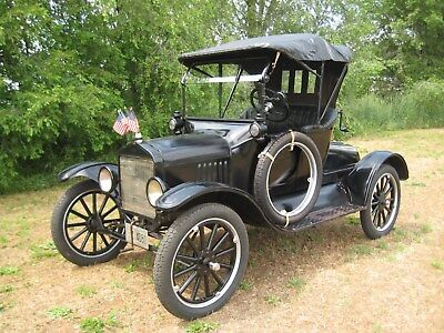 1920 Ford Model T / Restored Original 1920 Ford Model T Roadster Runabout