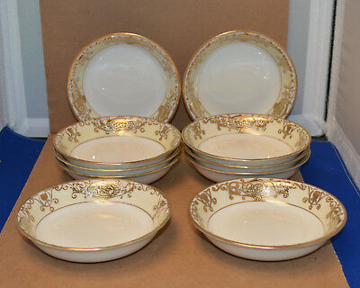 10 Beautiful Noritake 175 - Christmas Ball - Fruit Bowlsl - Nice