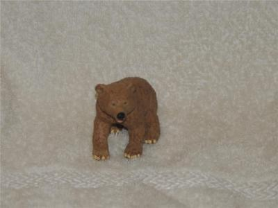 1995 Brown Bear Cub Safari LTD Wildlife Toys Excellent Toy Figure