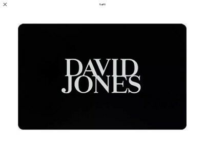 David Jones $120 Gift Card - Sent By Email