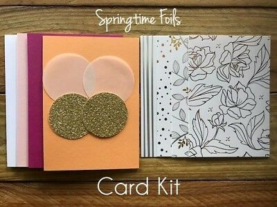 "Stampin' Up! Card Kit ""Springtime Foils"""