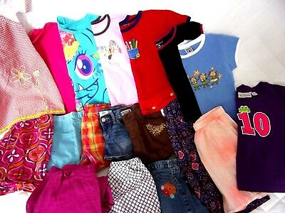 LOT Girls Sz M 7 -8 SummerClothes Outfits Shorts Shirts Jeans Capris MyLittlePon