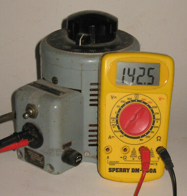 Powerstat 116 Continuously Variable Transformer: 0-140 VAC