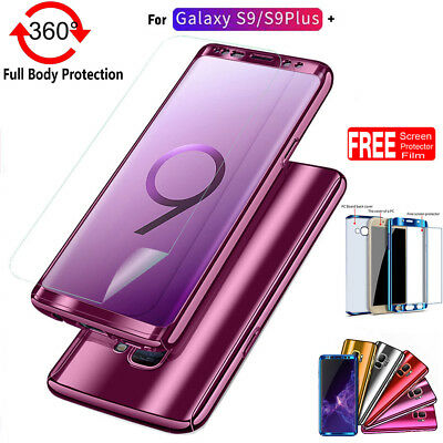 info for 6f300 1a936 360 FULL BODY Slim Shockproof Hard Case Cover Skin For Samsung Galaxy S9 S9  Plus