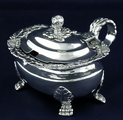 Sterling Silver Georgian Mustard Pot London