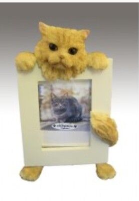 NIB! E&S Imports PETS Picture Frame PERSIAN Animal Gift CAT 🐱 Lover Collect