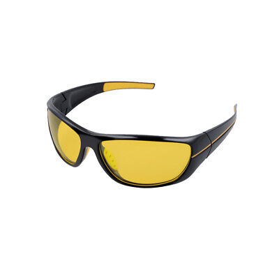 Yellow Glass Night Sight HD Driving Sunglasses Anti-Reflective For Car Driving
