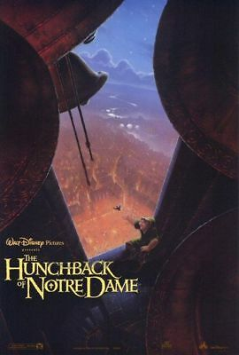 THE HUNCHBACK OF NOTRE DAME original adv 27x40 D/S movie poster (s004)