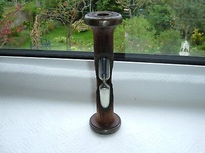 Vintage Wooden Bobbin Egg Timer Approx 4 minutes & 30 seconds