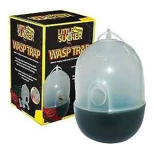 2 X Wasp / Insect ASP / INSECT TRAP HANGING FUNNEL NO ESCAPE TRAPS SAFE NO POISO