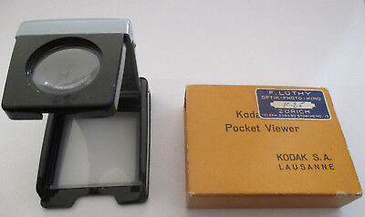 ❌ Kodak Pocket Viewer Dia OVP