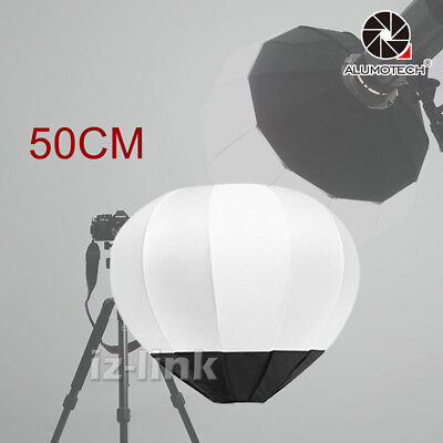 Collapsible Lantern Diffuser Studio BallGlobe Softbox Bowens Mount Diameter50cm