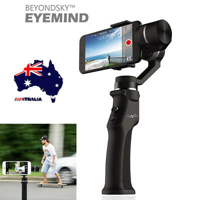 AU Handheld Gimbal Smooth 3-Axis Stabilizer Tools for Smartphone iPhone Samsung