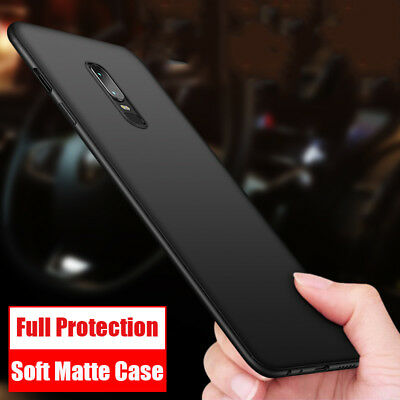 Shockproof Slim Matte Soft Silicone Rubber TPU Cover Case For One Plus 6T 6 5T 5