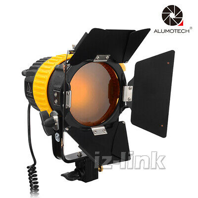 80W LED Fresnel 5500K Compact Photography Lighting For Studio Video Camera Lamp