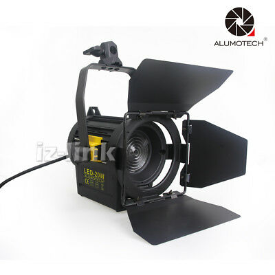 5500K 20W LED Fresnel Spot Continuous Light For Photography Camera Video Studio