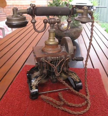 RARE Peel Conner Skeleton Telephone Model K8085 c.1898-1910