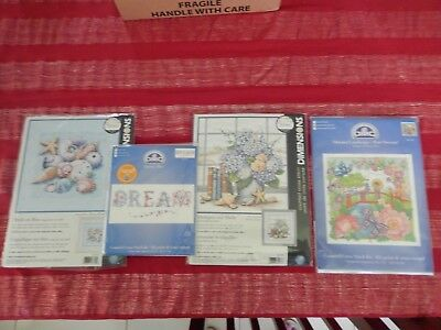 Bulk Lot of DMC and Dimensions Cross Stitch Charts Only