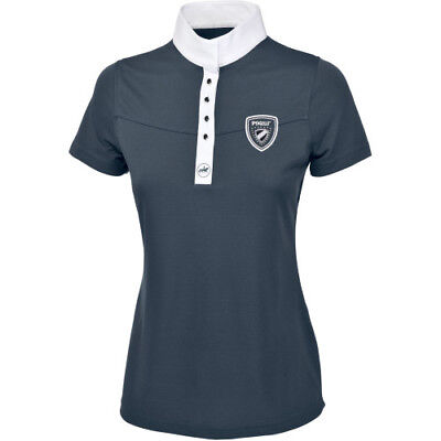 Pikeur Alicia Ladies Womens Shirt Competition - Blue All Sizes