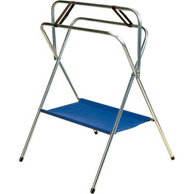 Stubbs Saddle Horse Folding S54 Unisex Stable And Yard Rack - Silver One Size