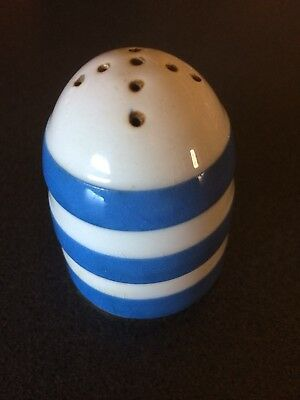 Cornishware TG Green Small Pepper Shaker