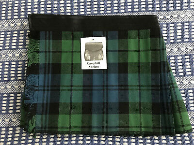 Campbell baby Kilt 4-12 month Scottish Plaid Tartan Christening Outfit?