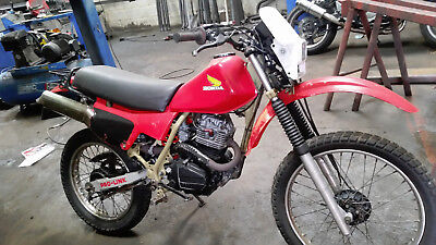 xl200r regesterd as xl125r spares or repair or feild bike crosser