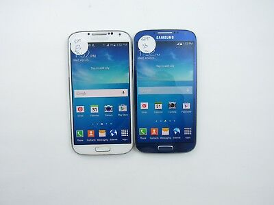 Lot of 2 Samsung Galaxy S4 L720T Sprint Check IMEI Good Condition 5-832