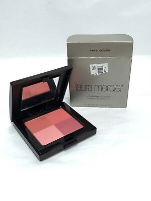 Read LAURA MERCIER Illuminating Powder PINK ROSE QUAD 0.35 oz