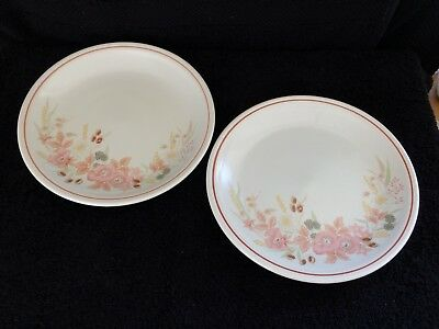 Hedge Rose by Boots 2 x Side Plates 19.5cm