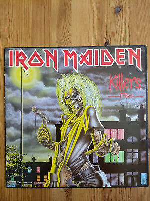 Iron Maiden Killers LP Vinyl (1981)