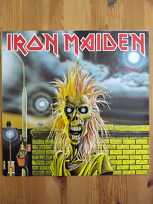 Iron Maiden s/t LP Vinyl (1980)
