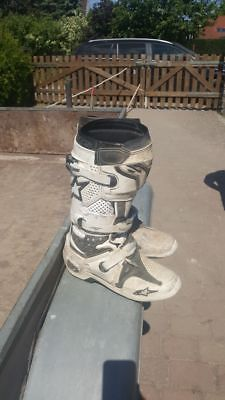 MX Stiefel Alpinestars Tech10 Gr.47