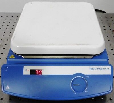 G149742 IKA C-MAG HP 10 Hot Plate, Doesn't Heat